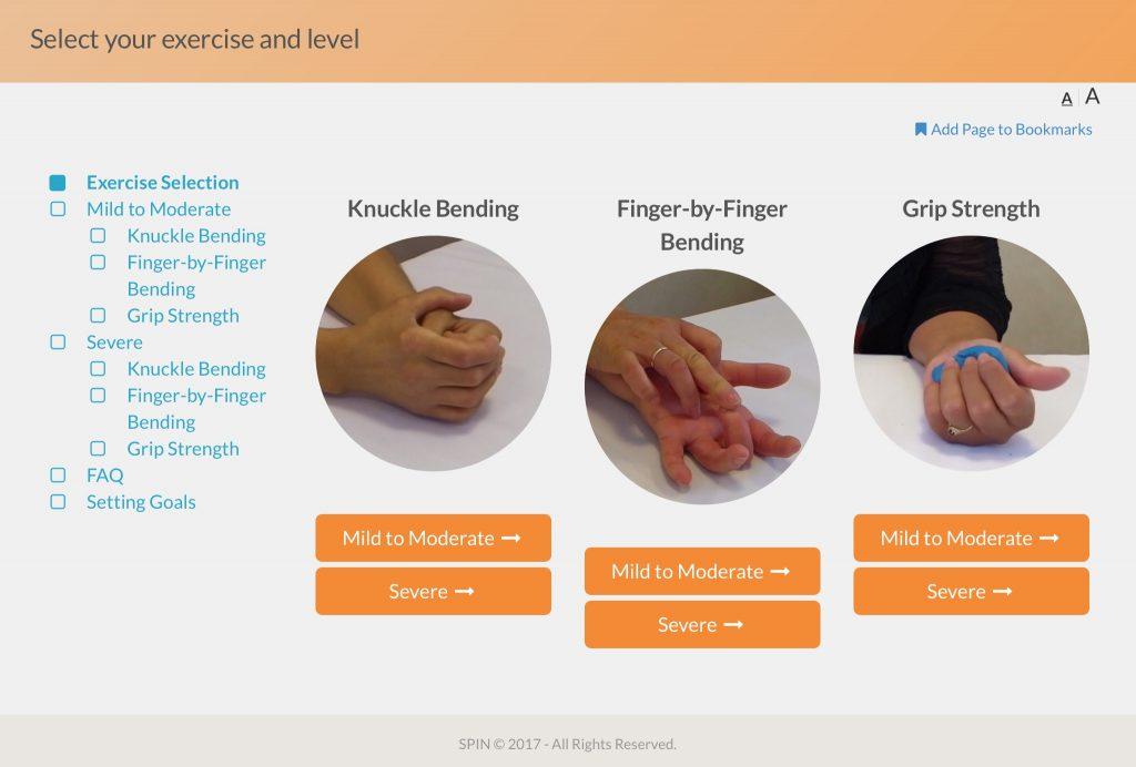 Das erste Online-Programm von SPIN, das sich mit Problemen der Hand bei Sklerodermie befasst, wird im Frühjahr 2019 verfügbar sein.
