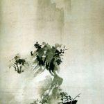 Eine lange Zeit allein - Sesshu (1420 - 1506), Japan