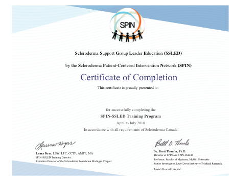 Certificate SPIN SSLED
